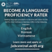 Become a language proficiency rater