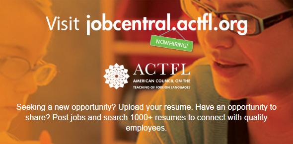 ACTFL Job Central